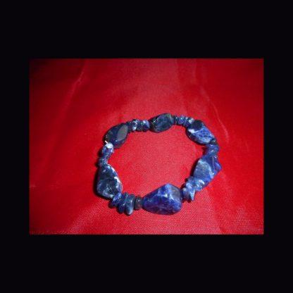 Bracelet en Pierre de Sodalite