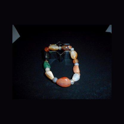 Bracelet en pierre d'Agate