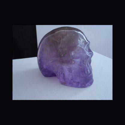 Crâne en Pierre d'Améthyste