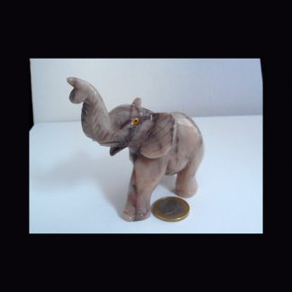 Eléphant en Pierre de Dolomite