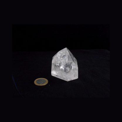 Pointe de Cristal de Roche arc-en-ciel