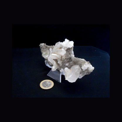 Druse de Quartz, Cristal de roche